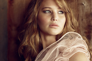 Jennifer Lawrence Glamour Uk 4k