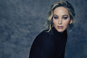 Jennifer Lawrence The Hollywood Reporter 2017 5k