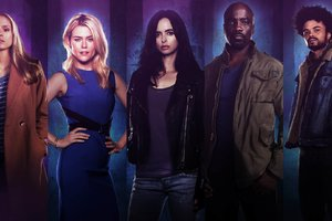 Jessica Jones Tv Cast Wallpaper