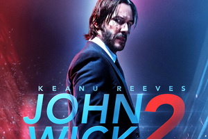 John Wick 2 Bluray Poster
