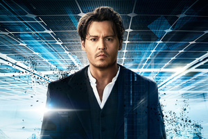 Johnny Depp In Transcendence Wallpaper