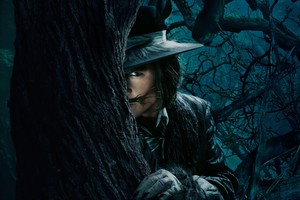 Johnny Depp The Wolf Into The Woods Wallpaper