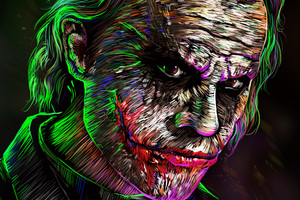 Joker 4k Digital Art