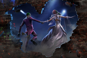 Joker And Harley Quinn Married Wallpaper