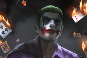 Joker Artwork HD Wallpaper