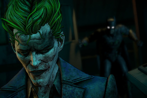 Joker Batman A Telltale Game Series Wallpaper