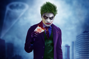 Joker Cosplay Wallpaper