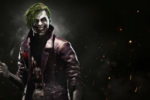 Joker Injustice 2 Wallpaper