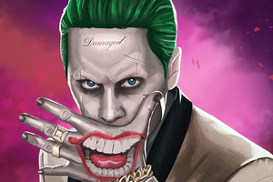 Joker Jared Leto Art
