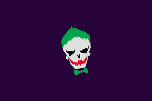 Joker Minimalism 4k Wallpaper