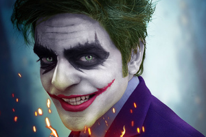 Joker Smiling 4k Wallpaper