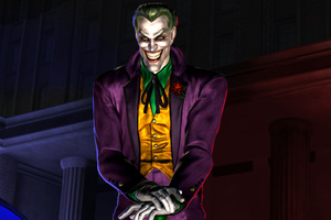 Joker Smiling Art