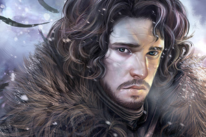 Jon Snow Arts Wallpaper