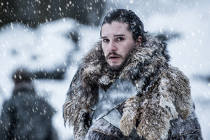 Jon Snow Beyond The Wall Game Of Thrones 4k Wallpaper