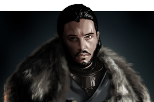 Jon Snow Game Of Thrones Digital Art Wallpaper