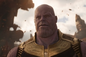 Josh Brolin As Thanos In Avengers Infinity War 2018