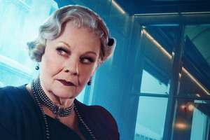 Judi Dench As Princess Dragomiroff In Murder On The Orient Express 2017 Wallpaper