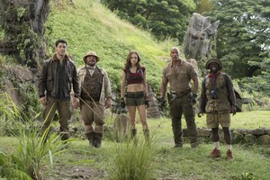 Jumanji Welcome To The Jungle Cast 5k Wallpaper