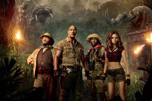 Jumanji Welcome To The Jungle Movie Wallpaper