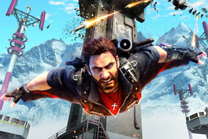Just Cause 3 Rico Wingsuit Wallpaper