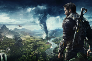 Just Cause 4 10k Key Art Wallpaper
