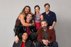 Justice League 2017 Cast Photoshoot