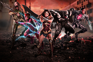 Justice League 2017 Fan Artwork