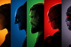 Justice League 2017 Superheroes 4k