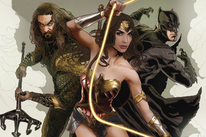 Justice League Aquaman Batman Wonder Woman