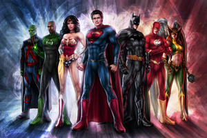 Justice League Art 5k