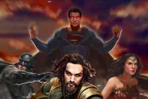 Justice League Artwork Superheroes