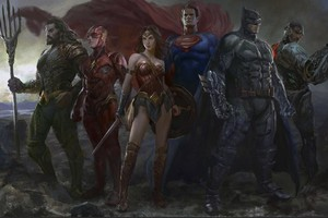 Justice League Fan Art Wallpaper