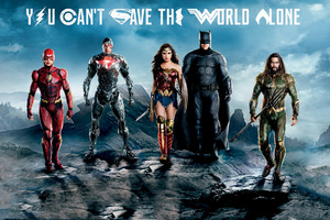 Justice League Flash Cyborg Wonder Woman Batman Aquaman