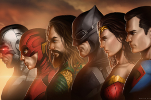 Justice League Movie Artwork