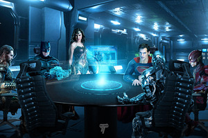 Justice League Roundtable
