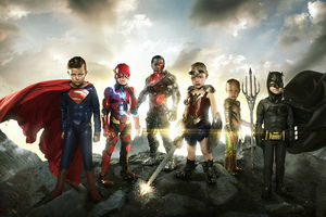 Justice League Small Heroes