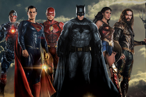 Justice League Superheroes Wallpaper