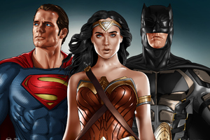 Justice League Superman Wonder Woman Batman Wallpaper