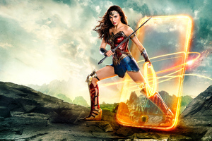 Justice League Wonder Woman 2018 Wallpaper