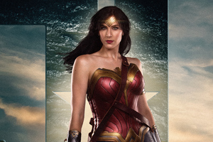 Justice League Wonder Woman 4k 2018