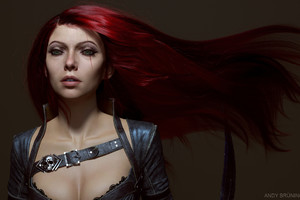 Katarina League Of Legends Fan Art Wallpaper