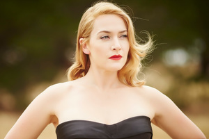 Kate Winslet In Black Dress 5k