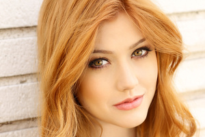 Katherine Mcnamara Closeup Wallpaper
