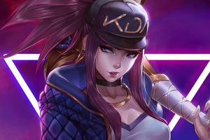 Kda League Of Legends 4k