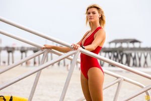 Kelly Rohrbach In Baywatch Movie