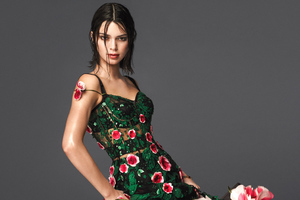 Kendall Jenner 4k Vogue Photoshoot 2018 Wallpaper