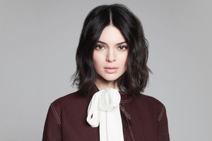 Kendall Jenner Longchamp Fall Wallpaper