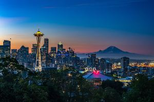 Kerry Park Seattle United States 5k Wallpaper