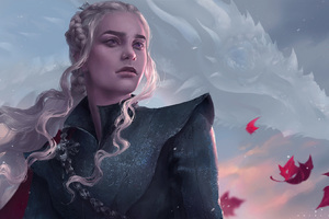 Khaleesi Artwork Wallpaper