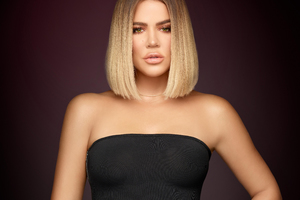 Khloe Kardashian Keeping Up With The Kardashians Season 14 2017 Wallpaper